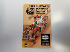 RS20 Toronto Blizzard 1979 NASL Soccer Pocket Schedule - Molson Canadian