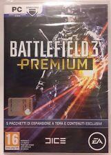 Battlefield 3 Premium Pack - 5 Pacchetti per Espansioni per PC - NUOVO