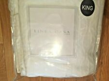 Linea Casa By Sferra Cotton Chenille Matelasse King Coverlet WHITE  New In Pouch