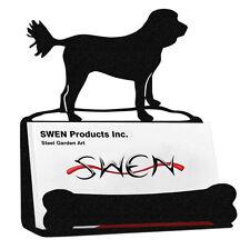 Swen Products Cockapoo Dog Black Metal Business Card Holder
