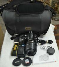 Nikon D D3100 14.2MP Digital SLR Camera - with AF-S ( DX-VR  ) 18-55mm Lens