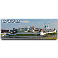 Kazan Kremlin panoramic fridge magnet Russia travel souvenir