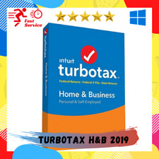 TurboTax Home & Business 2019 ✔️ for windows ✔️Lifetime Activated ✔️Full Version