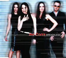 THE CORRS BREATHLESS 3 TRACK CD SINGLE FREE P&P