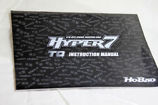 Genuine HoBao Hyper 7 TQ2  Instruction Manual Book in protective sleeve.