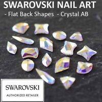 Genuine Swarovski® Flat Back Crystals Rhinestones Gems Nail Art Crystal AB