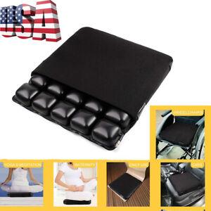 """Air Seat Cushion for Office Chair, Wheelchair, Car or Truck Driver Seat 18x15.8"""""""