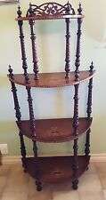 Antique early Victorian inlay Whatnot stand. Perfect condition.