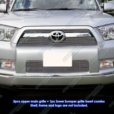 Custom Fits 10-11 2011 Toyota 4Runner Billet Grill Combo