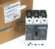 NEW SIEMENS 3VL2506-2KN33-0AA0 CIRCUIT BREAKER HDK3B060F, 60A/ 3-P/ THERM. MAG.