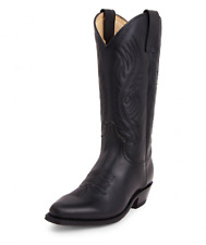 """2605 """" red pull oil negro Sendra Bottes western country"""