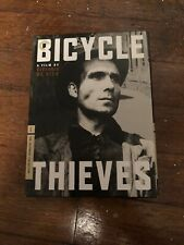 Bicycle Thieves/Bicycle Thief Criterion Collection Dvd digipak With Book!
