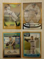 4 Card Bowman Gold Refractors /50 SEATTLE MARINERS prospects