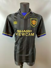 MANCHESTER UNITED 1993/1994 AWAY FOOTBALL SOCCER SHIRT UMBRO ADULT SIZE XL
