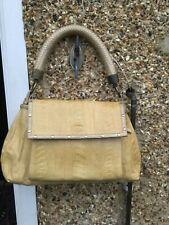 Vintage Rare designer R&Y Augousti 100% Snake skin leather shoulder bag
