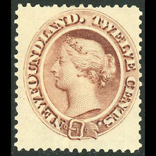 NEWFOUNDLAND Canada 1894 12c Deep Brown. SG 61. Mint. Heavy Hinge Remains(WC140)