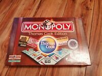 RARE MONOPOLY THOMAS COOK EDITION COMPLETE VERY NICE CONDITION WINNING MOVES