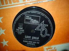 "Diana Ross & the Supremes ""Love Child"" 1968 TAMLA MOTOWN Oz 7"" 45rpm"