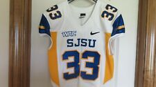 San Jose State Spartans Authentic Game Issued Jersey sz M