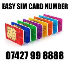 GOLD EASY VIP MEMORABLE MOBILE PHONE NUMBER DIAMOND PLATINUM SIMCARD 8888