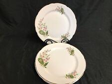 "Royal Stafford England ""LONDON PRIDE"" ~ Set of 4 ~ Luncheon Plates ~ 8 1/4"""