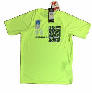 NWT UNDER ARMOUR Heatgear Youth Boys Logo T-Shirt/Tanks; Sz 4,5,6,7, YXS thru YL