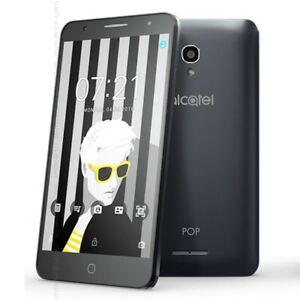 "Alcatel 5051X Pop 4 - 5"" 4G Quad Core 8MP Camera Android 6 JBL headset Unlocked"