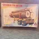 Kit Truck Trailer S-0307 Timber Trailer ESCI 1-32 Transport Twin Flat Bed