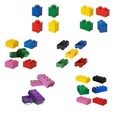 Lego Large Blue 8 Stud Storage Boxes 4004 UK