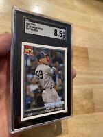 Aaron Judge SGC 8.5 MINT+ Topps Card New York 2020 Yankees #TC-18 Mantle Maris