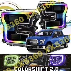 ORACLE for Ford F150 2015-2017 Headlight DRL DRLs Upgrade Kit COLORSHIFT 2.0