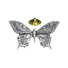 Swallowtail Butterfly English Pewter Lapel Pin Badge XTSPBC06