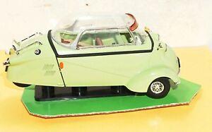 1996 GREEN Revell Messerschmitt KR 200 Die Cast Model METAL Car 08917 Scale 1:18