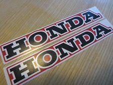 HONDA  XL XR CR CL DECAL TANK LABEL STICKER SET XL500 XL250 XR500 XR250 REPRO