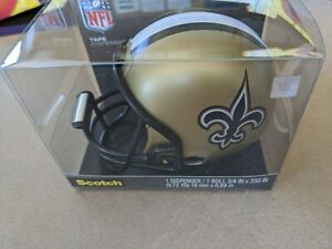New Orleans Saints Football Helmet 3M Scotch Tape Dispenser New