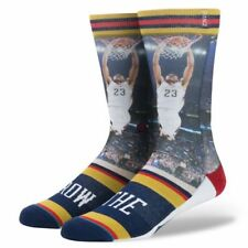 """New Stance NBA Pelicans """"Anthony Davis The Brow"""" Mens Socks. Size: Large"""