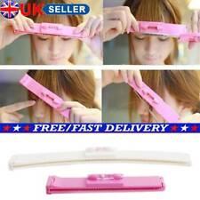 2PCS Professional DIY Bangs Hair Trim Cutting Clip Comb Hairstyle Typing Tool UK