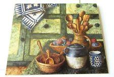 Vintage Greeting Card Blank Country Green Anna Krajewski Lang Graphics