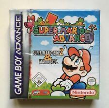 Super Mario Advance (Nintendo Game Boy Advance) Red-Strip Factory Sealed PAL
