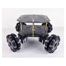 4WD Omni Wheel Car RC Chassis Car 100mm Omni Wheels Steel Board+37Motors os12