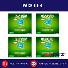 4x Nicorette 4 mg,  Freshmint 210 Pieces