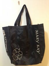 "Mary Kay ""Pink Doing Green"" Black Eco Tote Bag"