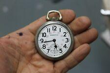 Vintage Hamilton Grade 992B Pocket Watch Railway Special