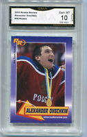 2003 Alexander Ovechkin Rookie Review  rookie gem mint 10 #44