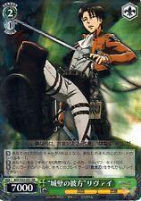 Attack on Titan Shingeki no Kyojin Trading Card Levi AOT/S35-031 RR Holographic