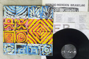 SERGIO MENDES BRAZIL '86 A&M C28Y3077 Japan PROMO VINYL LP