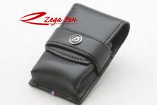 ST Dupont Leather Lighter Case 180024 - Grand Elysee Black