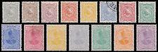 Persia Scott 104-108, 110-119 (1898) Mint/Used H F-VF, CV $220.50