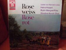 Hermann Löns   LP   Rose weiss, Rose rot (Heinz Hoppe, Ruth-Margret Pütz, Gün...
