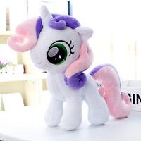 "Sweetie Belle 30cm 12"" Pony Horse Cartoon MLP Stuffed Animal Plush Soft Toy Doll"